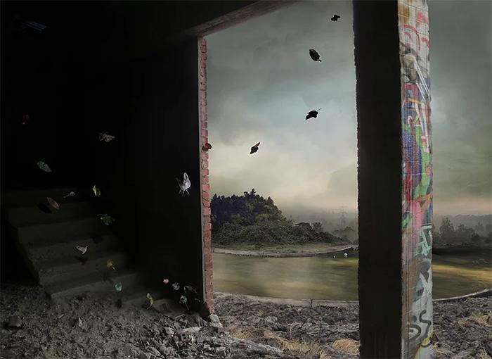 suzanne moxhay photomontages vesperine