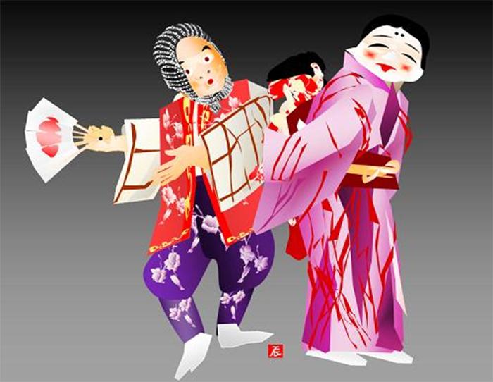 tatsuo horiuchi comical shinto performance