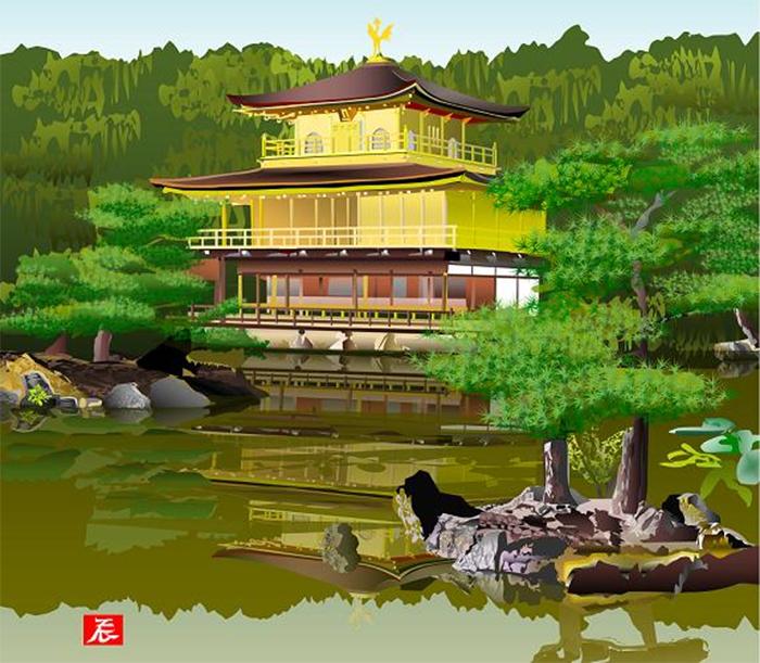 tatsuo horiuchi kinkakuji temple