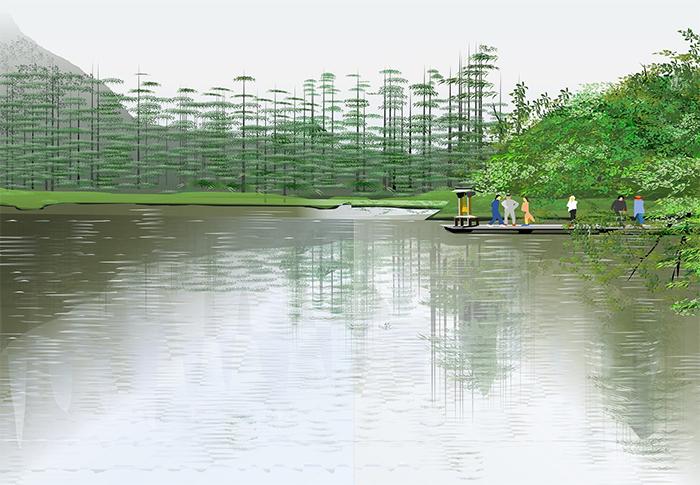 tatsuo horiuchi myojin-ike pond