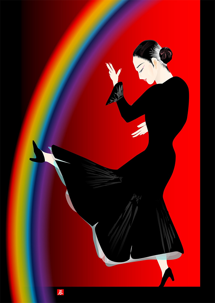 tatsuo horiuchi the dancing girl toward the rainbow