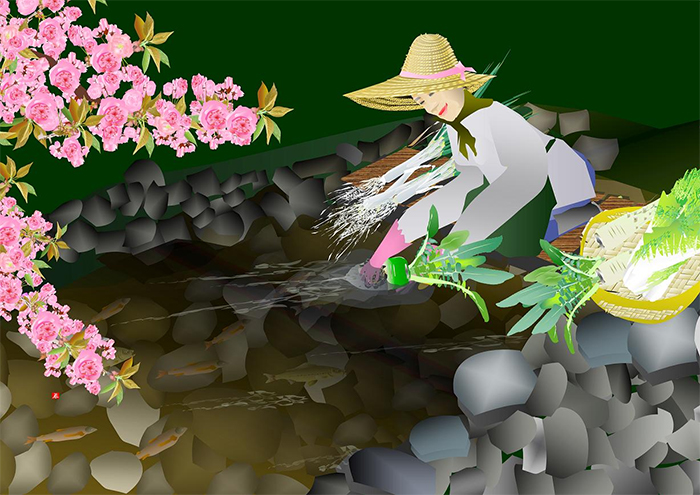 tatsuo horiuchi warm water
