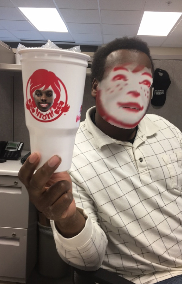 wendys faceswap better than expected