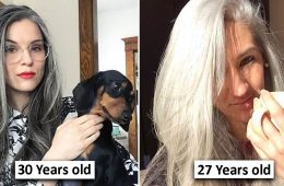 women with grey hair