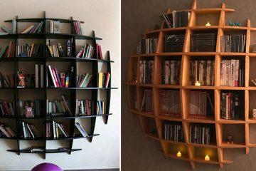 3D Sphere Bookshelf