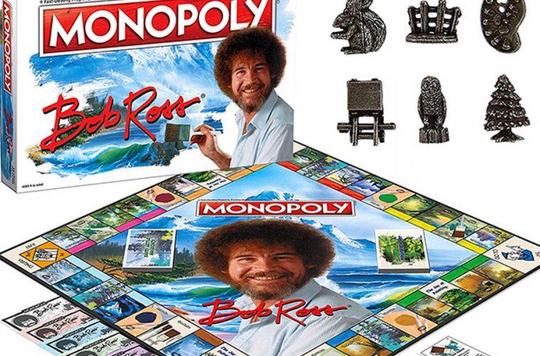 Bob Ross Monopoly