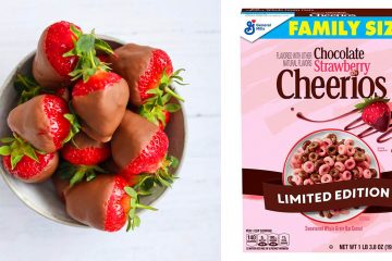Chocolate Strawberry Cheerios