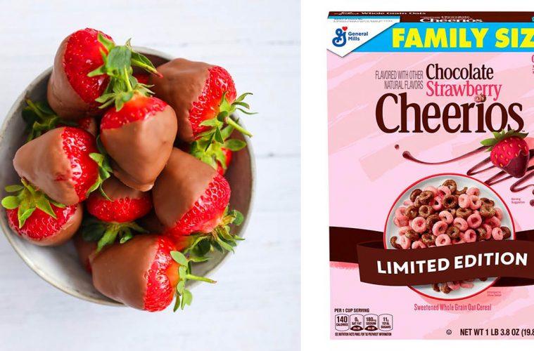 Chocolate Strawberry Cheerios