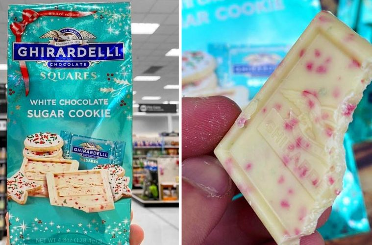Ghirardelli White Chocolate Sugar Cookie