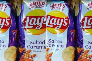 Lay's Salted Caramel Flavor