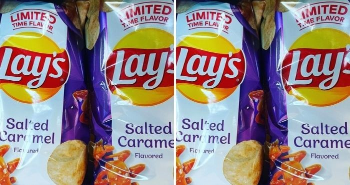 Lay's Salted Caramel Flavor