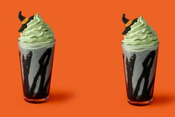 Little Witch Halloween Cream Frappuccino