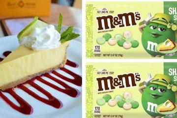 M&M's Key Lime Pie