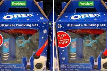 Oreo Dunking Set