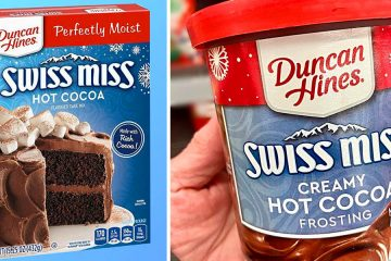 Swiss Miss Hot Cocoa Cake mix