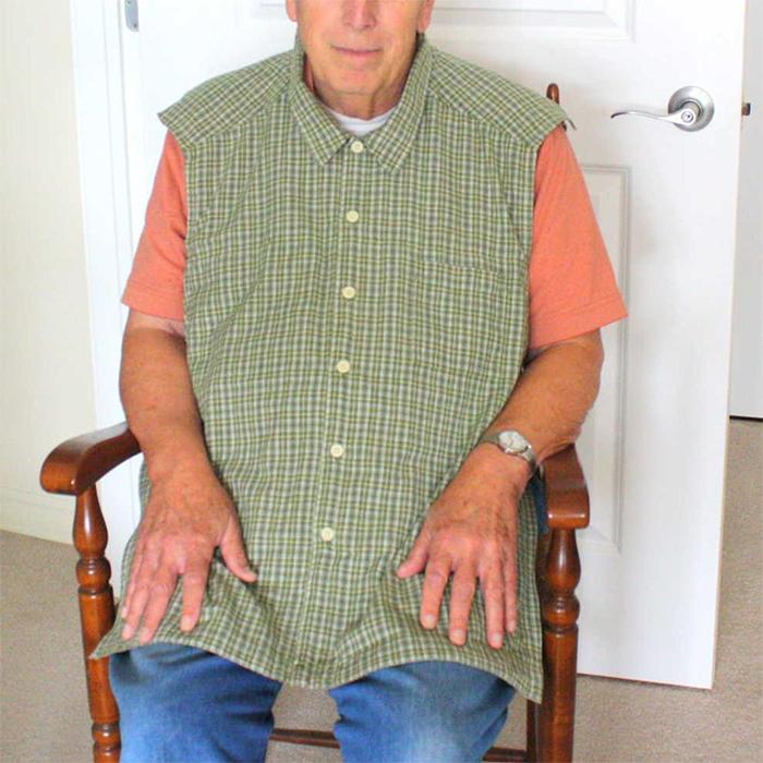 adult dignity bibs for men