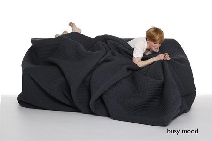 bean bag bed busy mood