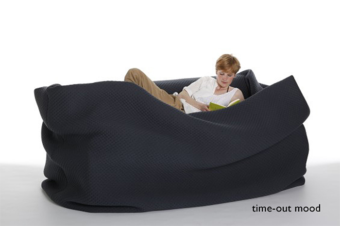 bean bag bed timeout mood