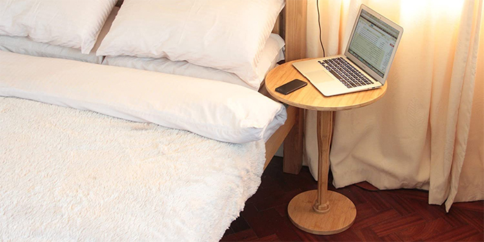 bedside table self-defense accessories