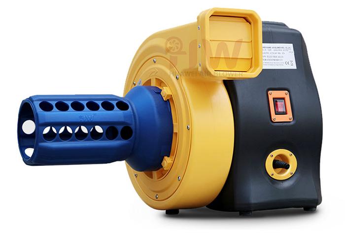 blower with deflator