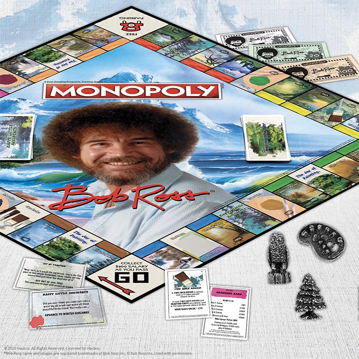 bob ross monopoly most peaceful edition