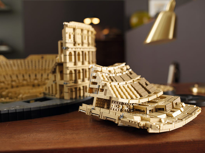 colosseum brick toy inner structure