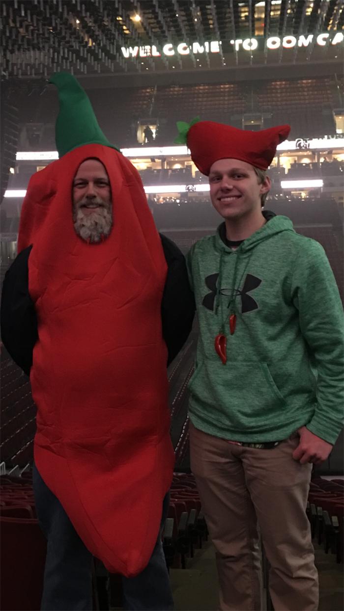 creative dads red chili pepper costume