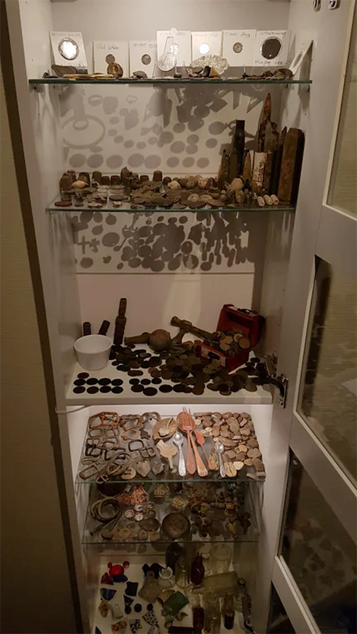dads little metal detecting museum