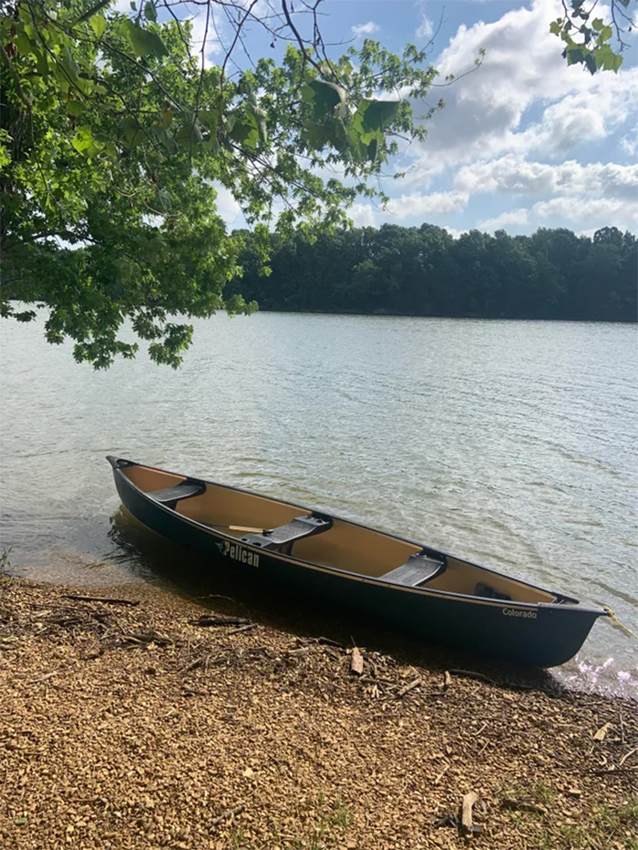 daughter asked for canoe wish granted