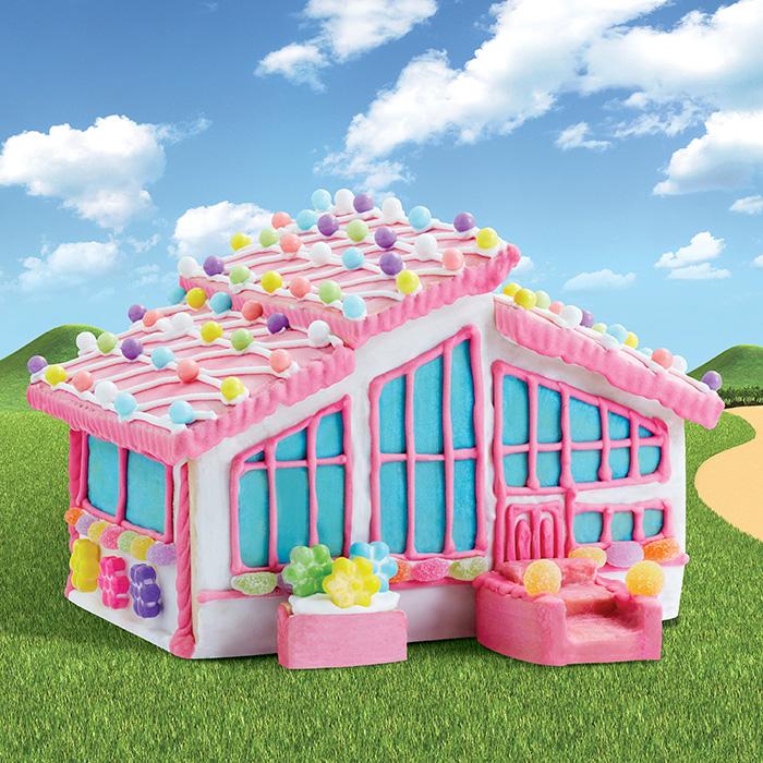 edible barbie dreamhouse