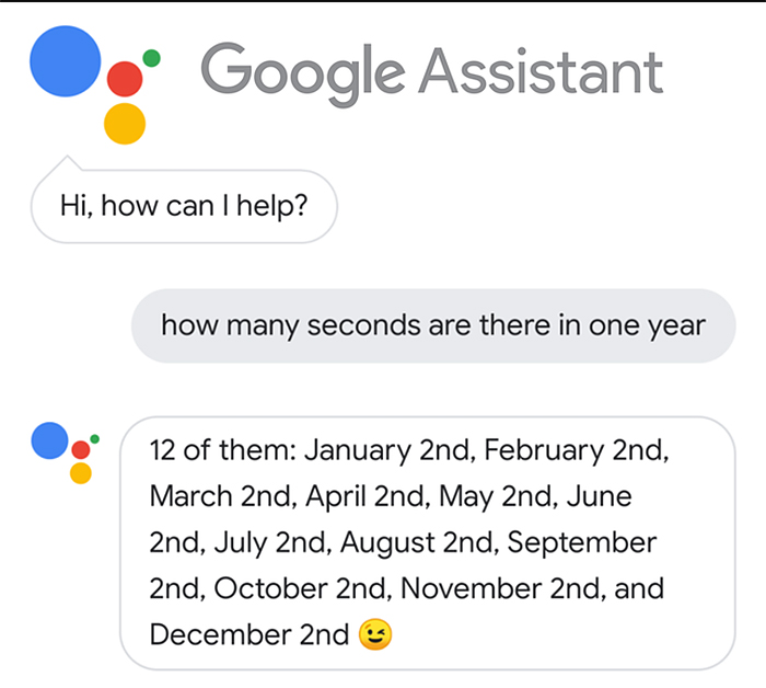 funny honest answer google assistant