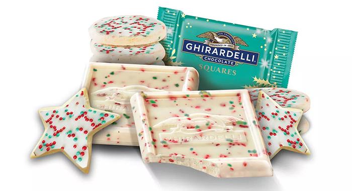 ghirardelli white chocolate sugar cookie pieces