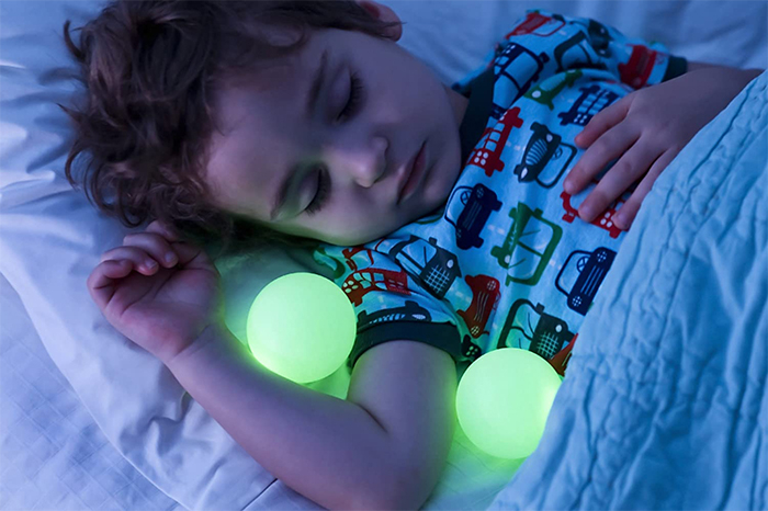 glowing balls nightlight lamp removable