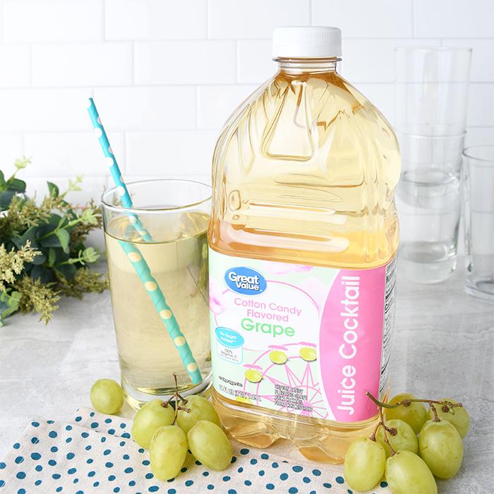 great value cotton candy grape juice
