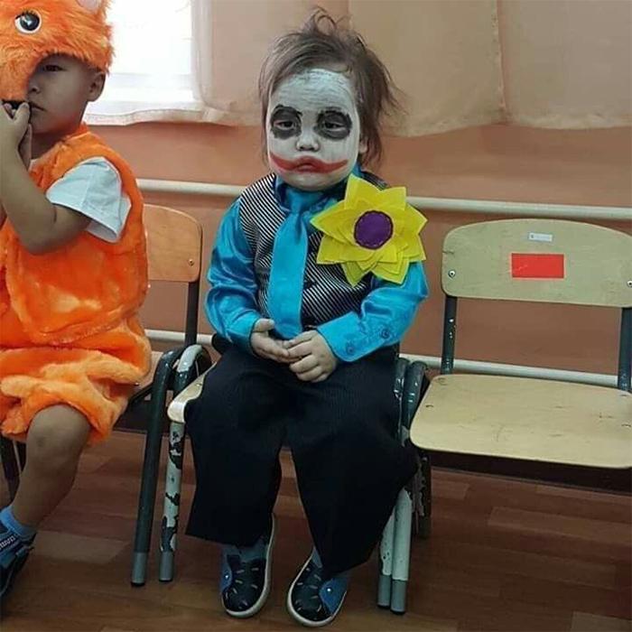 halloween costume ideas joker kid