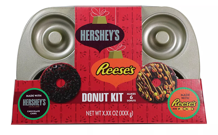 hershey's reese's donut kit with pan