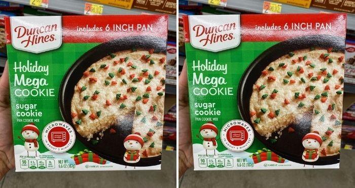 holiday mega cookie