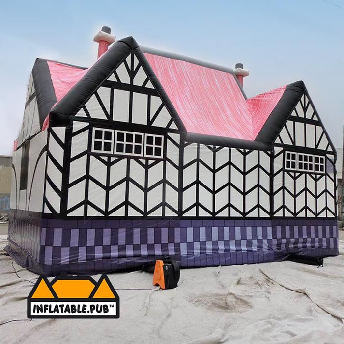 inflatable pubs das bierhaus back side