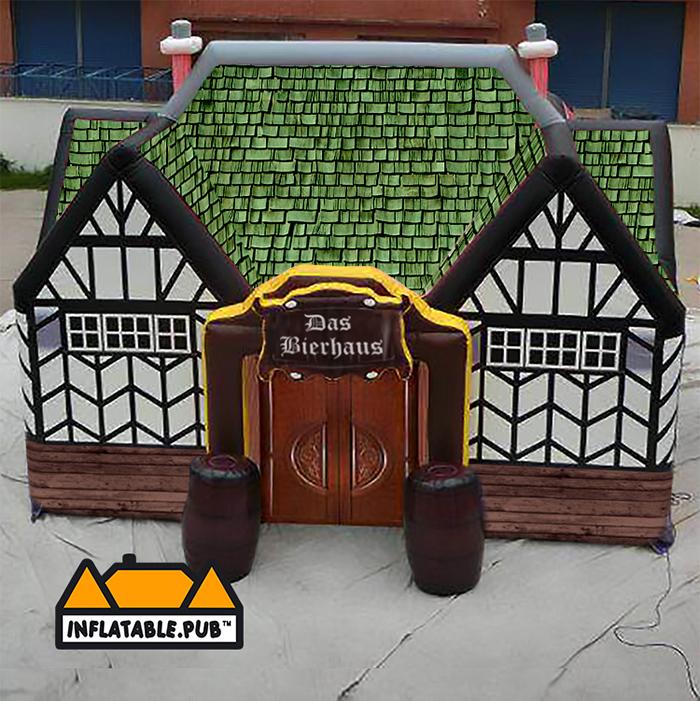 inflatable pubs das bierhaus