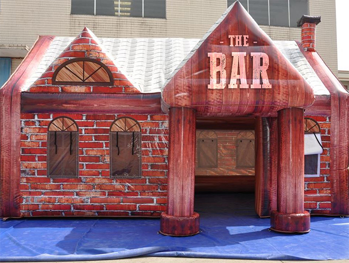 inflatable pubs the bar