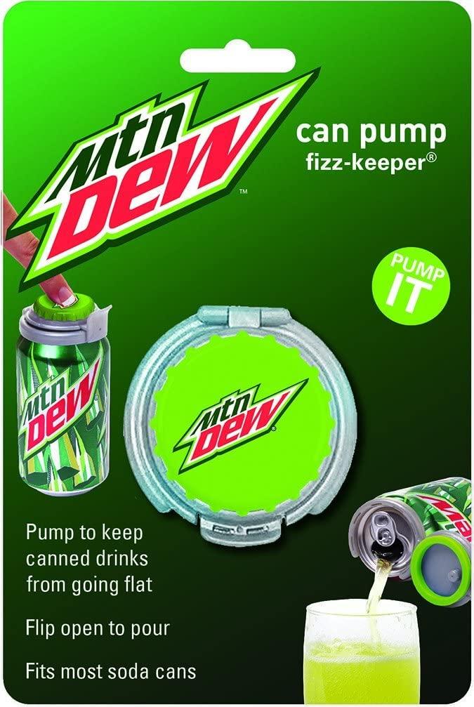 jokari mountain dew can pump and fizz keeper in packaging