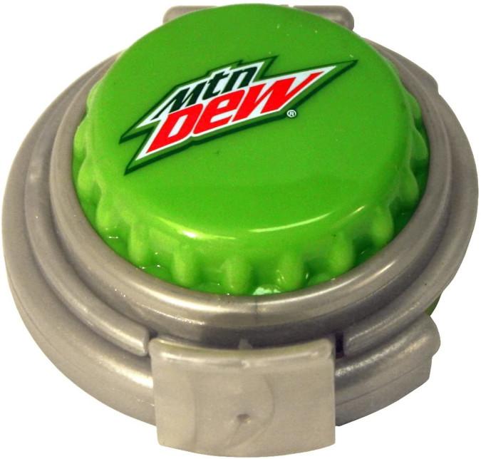 jokari mountain dew can pump and fizz keeper