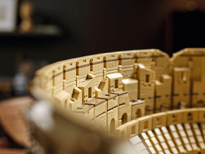 lego roman colosseum inner structure