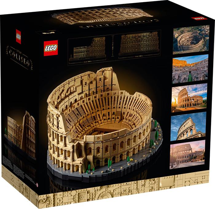 lego roman colosseum packaging back