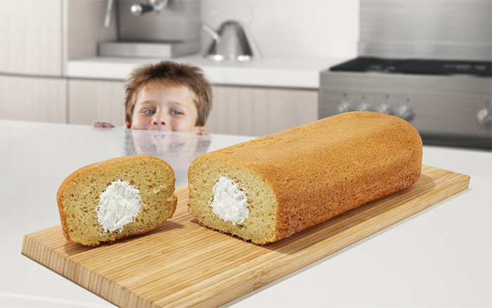 make your own party size twinkie