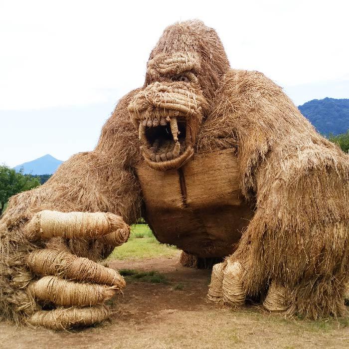 niigata japan wara art gorilla