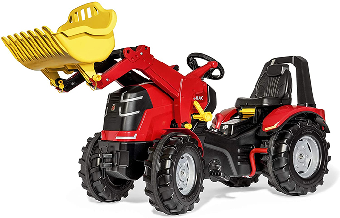 rolly x-trac toy tractor with loader