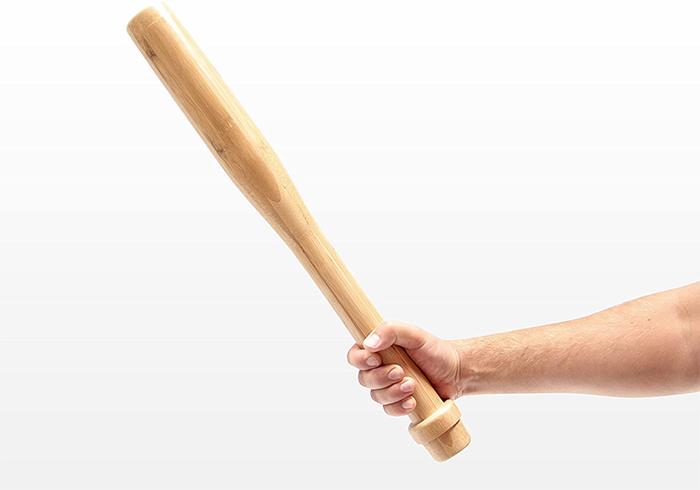 self-defense weapon bedside table leg