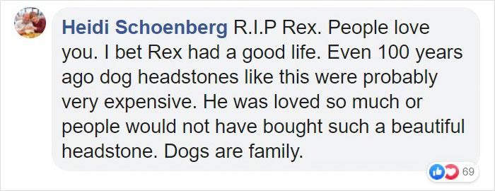 sticks rex gravestone comment heidi