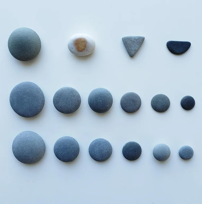 strange collections perfectly round rocks